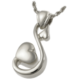 Wholesale Cremation Jewelry Infinite Love shown in sterling silver