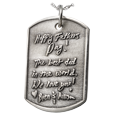 Wholesale 3D Handwriting Dog Tag in Silver