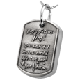 Wholesale 3D Handwriting Dog Tag with inner compartment