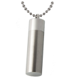 plain cylinder shown with ball chain