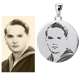 original photo and end product photo pendant