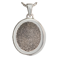 Wholesale Mini Oval Fingerprint Jewelry chamber style