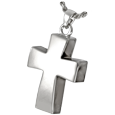 Wholesale Cremation Jewelry: Vaulted Cross