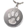Wholesale Pet Cremation Jewelry: Cat Paw Urn Pendant