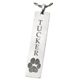 actual paw print personalized jewelry