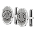 Wholesale Pet Print Jewelry: Sterling Silver Cuff Links- Noseprints