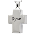 Wholesale Sterling Silver Cross Jewelry engraved with name
