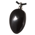 Wholesale Oblong Black Wood Cremation Jewelry