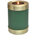 Sage Green Candle Holder Memorial Baby Memorial
