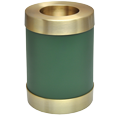 Sage Green Candle Holder Urn shown plain