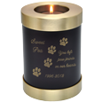 Wholesale Pet Urn: Espresso Candle Holder Dog Urn