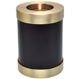 Espresso Candle Holder Dog Urn