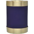 Alternate view of Wholesale Urn Keepsake: Blue Candle Holder Urn