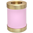 Alternate view of Wholesale Urn Keepsake: Pink Candle Holder Urn