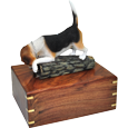 Wholesale Beagle dog figurine urn