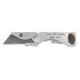 Personalized Memorial Utility Knife open blade