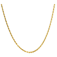 Wholesale Gold-Plated Rope Chain