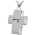 Wholesale sterling silver cross personalized chamber jewelry signature
