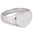 Wholesale Bold Heart Silver Cremation Jewelry