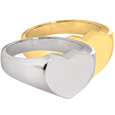 Wholesale Bold Heart Cremation Jewelry in silver and gold
