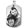 Wholesale Dog Tag Urn Jewelry with Photo