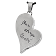 Wholesale Teardrop Heart with Handwriting available in ash-holding