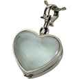 Wholesale Pet Cremation Jewelry: Victorian Glass Heart Locket