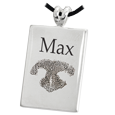 Wholesale Rectangle Pet Keepsake with nose print and name