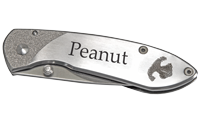 Wholesale Pet Noseprint Pocket Knife with pet name