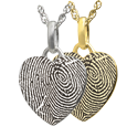 Wholesale Petite Heart Fingerprint with full-coverage print