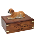 Wholesale Puggle dog figurine urn with engraved base