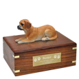 Wholesale Puggle dog figurine urn with engraved plaque