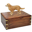 Wholesale Golden Retriever dog figurine urn