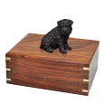 Wholesale Shar Pei dog figurine urn