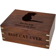 Wholesale Pet Cremation Wood Urns: Perfect Wooden Box Cat Urn Large