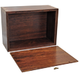 Urn compartment shown of Wholesale Perfect Wooden Box Photo Frame Urn XLarge