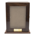 Elegant Photo Wood Full-size Square Urn without personalization