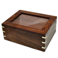 Wholesale Perfect Wooden Box Urn with Photo Frame, Large