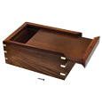 Wholesale Perfect Wooden Box Urn with Photo Frame, Large interior shown