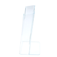 acrylic holder side view