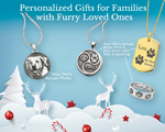 personalized jewelry gift for winter holiday
