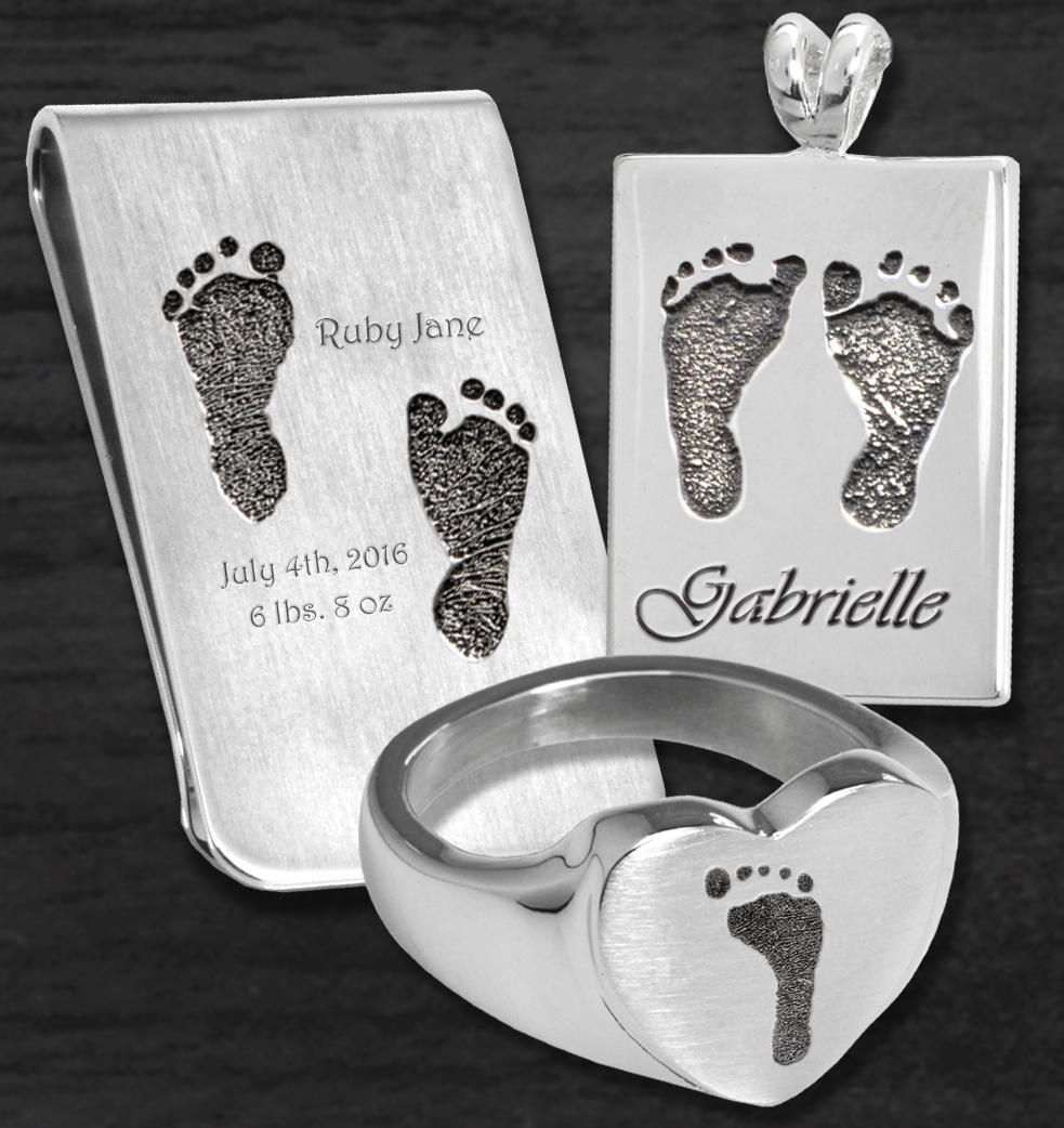 Footprint Jewelry