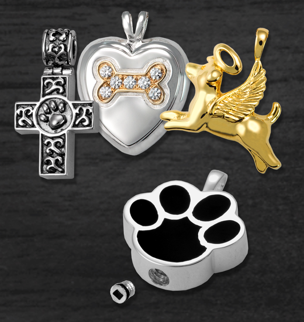 Pet Cremation Jewelry- All Styles