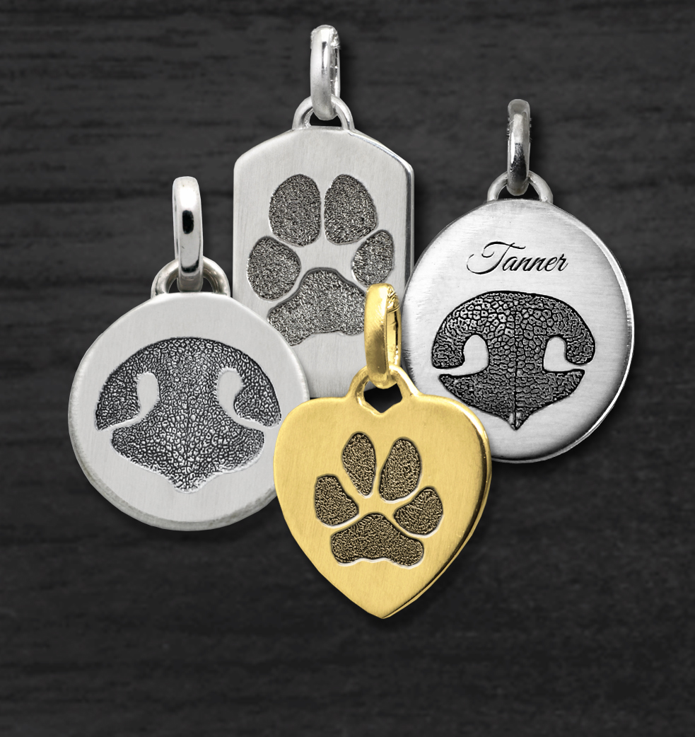 Petite Print Jewelry for Pets