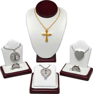 6-piece keepsake jewelry display
